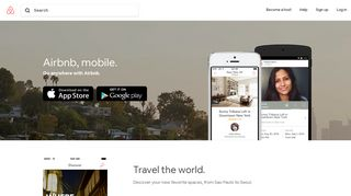 Airbnb Mobile
