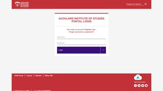 AIS Portal - Auckland Institute of Studies