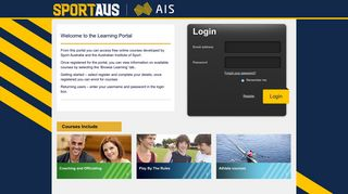 Welcome to the Australian Sports Commision portal - Janison CLS