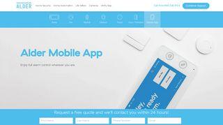 Mobile App | Alder Home Security