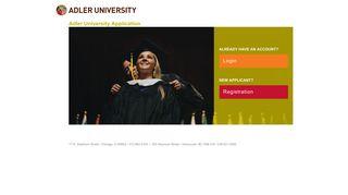 Adler University Application