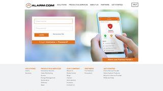Login - Alarm.com