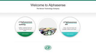 Alphasense | The Sensor Technology Company
