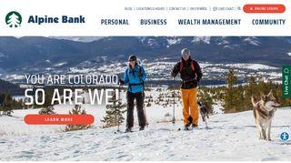 Alpine Bank | Denver, CO - Boulder, CO - Grand Junction, CO