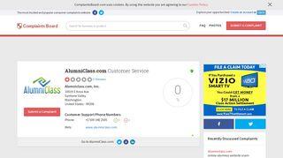 AlumniClass.com Customer Service, Complaints and Reviews