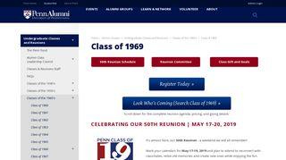 Penn Alumni - Class of 1969