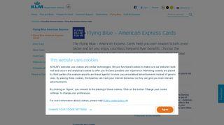 Flying Blue – American Express Cards - KLM.com