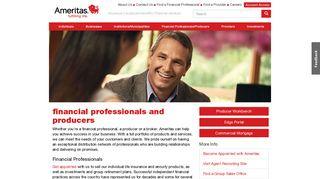 Financial Professionals & Producers - Ameritas