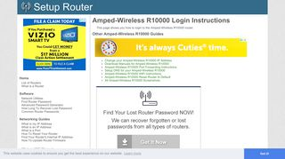 Login to Amped-Wireless R10000 Router - SetupRouter