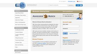 Anheuser Busch Login - UBC Group