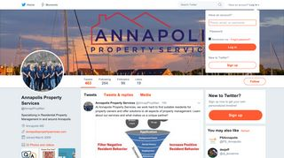 Annapolis Property Services (@AnnapPropMan) | Twitter