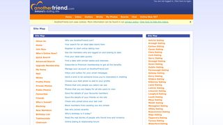 AnotherFriend.com - Ireland's Biggest and Best Online Dating site. Site ...