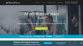 BerniePortal: All-In-One HR Software for Small & Mid-Sized Employers