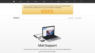 Mail - Official Apple Support