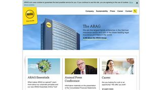 Welcome to the ARAG Group