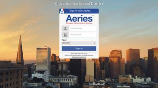 Aeries - Chico Unified School District