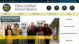 Chico Unified School District - Home