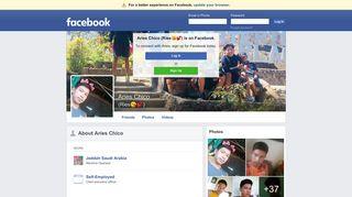 Aries Chico   Facebook