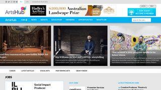 ArtsHub News & Jobs | The Home of the Australian Arts Industry