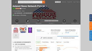Asianet News Network Pvt Ltd, Nungambakkam - Asianet ... - Justdial