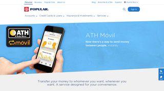 ATH Móvil - Banco Popular de Puerto Rico