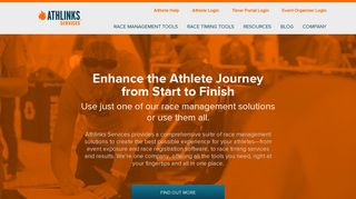 Athlinks Services - Race Management, Registration and Timing Tools