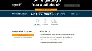 Audible.com - Over 425,000 of the Best Audiobooks & Original Content