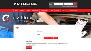 Login - Autoline Sales