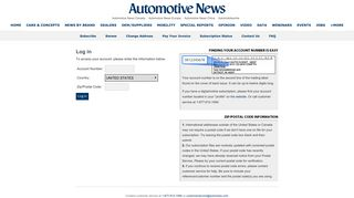 Automotive News: Sign in - Crain Communications