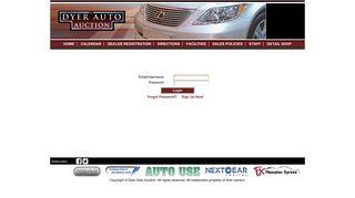 Login   Dyer Auto Auction