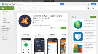 Avast Antivirus – Mobile Security & Virus Cleaner – Apps on Google ...