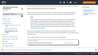 How Users Sign In to Your Account - AWS Identity and Access ...