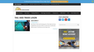axis trade login Archives | A Digital Blogger