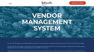 Complete Medical Staffing - b4health is a complete Vendor ...