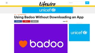 Facebook login badoo Badoo: Social