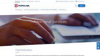 Mi Banco Services - Popular