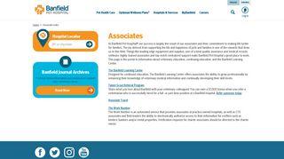 Links for Banfield Pet Hospital® Associates