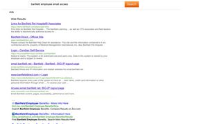 Search results for banfield employee email access -