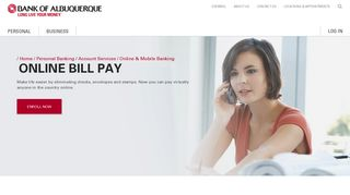 Online Bill Pay - Bank of Albuquerque