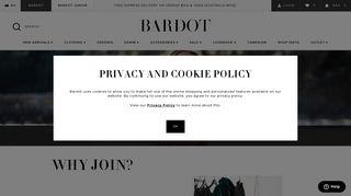 Become a Member | Bardot