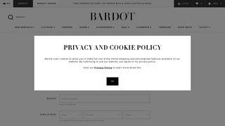 Register - Bardot
