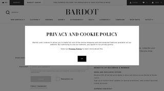 My Account | Bardot