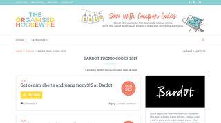Bardot Discount Codes & Promo Codes In February 2019 Australia