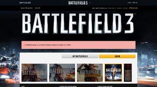 EA Battlelog - Battlelog / Battlefield 3