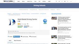Bukit Batok Driving Centre Ltd Reviews - Singapore Driving Schools