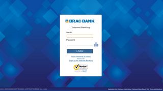 BRAC Bank Internet Banking : Login Page