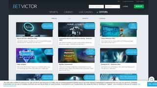 Betting Offers - Best Free Sports Bets & Casino Bonuses | BetVictor