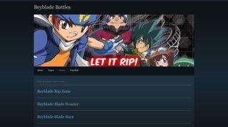Games - Beyblade Battles