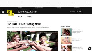 Bad Girls Club Is Casting Now! - Oxygen