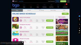 Mobile Bingo   Online Bingo   bgo Mobile Bingo - BGO Casino